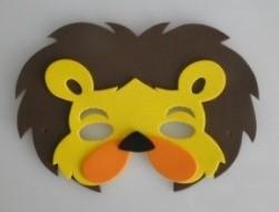 Máscara Infantil Leão em EVA