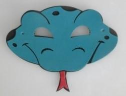 Máscara Infantil Cobra em EVA