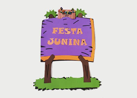 Painel Festa Junina Grande