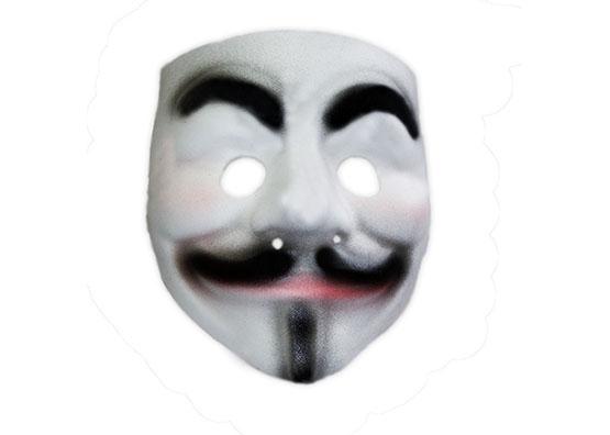 Máscara V De Vingança em EVA