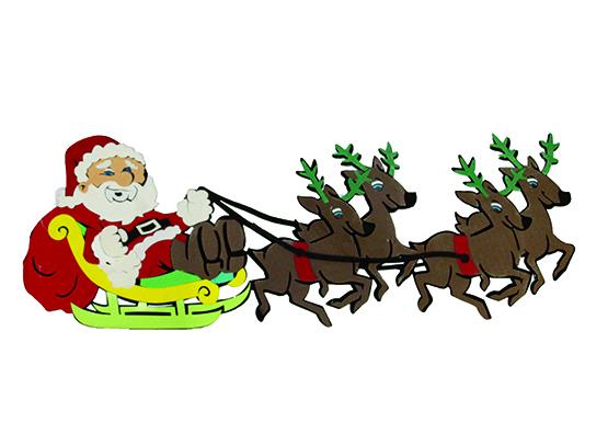 Papai Noel No Treno